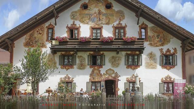 House in Oberammergau (Baviera Alemania)