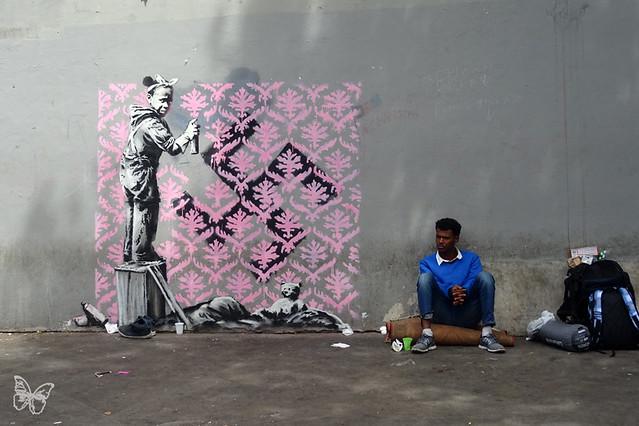 Banksy - Porte de La Chapelle