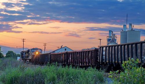 Scrap Metal Train