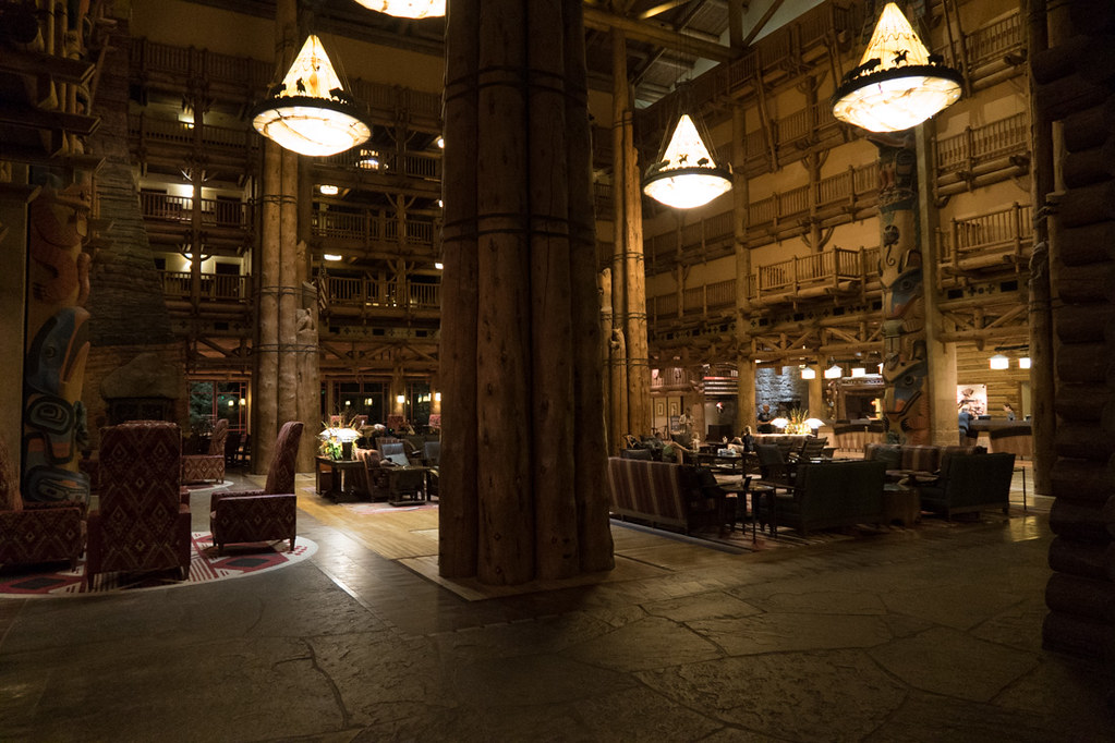 Wilderness Lodge Lobby at Disney
