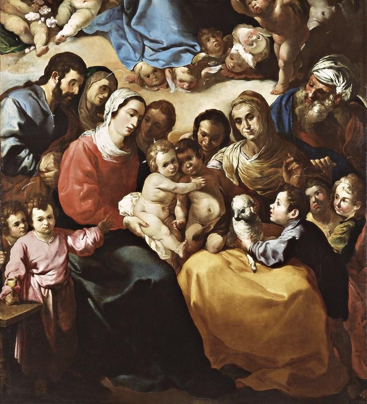 Francisco de Herrera - The Holy Family (c.1636)