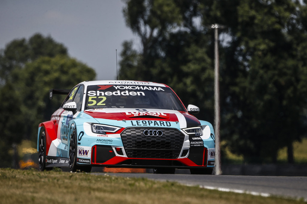 52 SHEDDEN Gordon, (gbr), Audi RS3 LMS TCR team Audi Sport Leopard Lukoil, action during the 2018 FIA WTCR World Touring Car cup race of Slovakia at Slovakia Ring, from july 13 to 15 - Photo François Flamand / DPPI.
