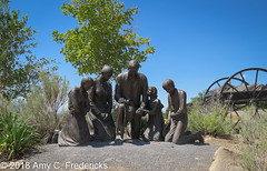Salt Lake City UT - This is the Place Heritage Park - Journey's End