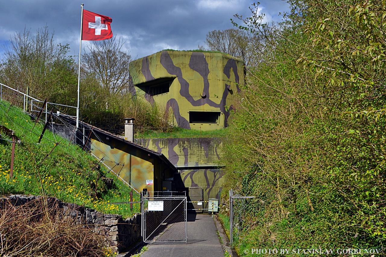 Форт Ройенталь – логово швейцарских пенсионеров!