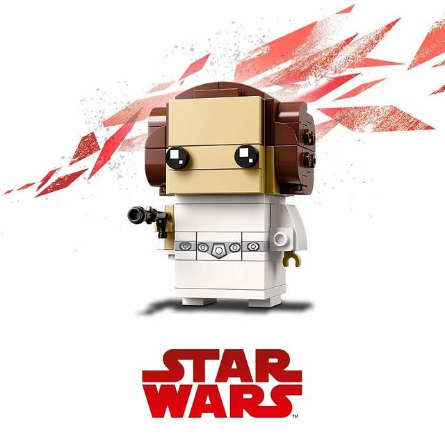 Trzy kolejne zestawy LEGO BrickHeadz Star Wars (2)