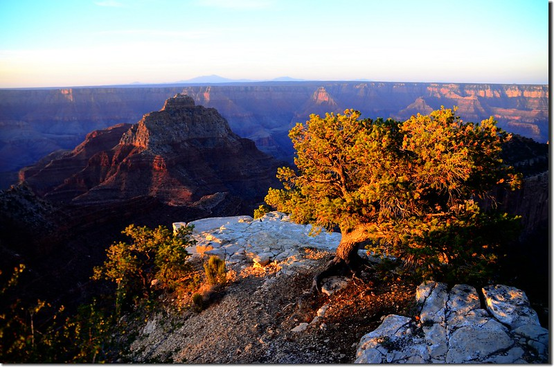 Vishnu Temple as viewed from Cape Royal on the North Rim of the Grand Canyon (4)