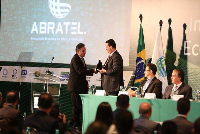 """Seminário """"O Impacto Social, Político e Econômico das Fake News"""", promovido pela Abratel. Brasília, 20 de junho de 2018."""