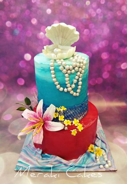 Cake by Meraki Cakes