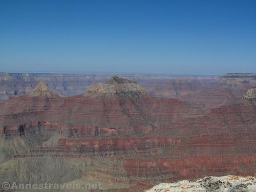 Views from Honan Point on the North Rim of Grand Canyon National Park, Arizona
