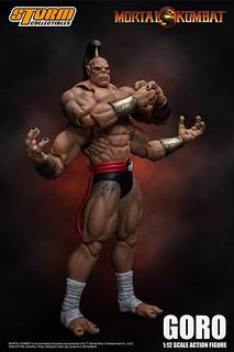 STORM COLLECTIBLES 《真人快打》魔王「戈洛」殘暴登場 !Mortal Kombat – GORO