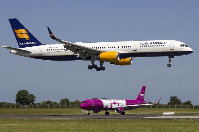 TF-ISJ | Icelandair | Boeing B757-256(WL) | CN 26249 | Built 1999 | DUB/EIDW 06/06/2018 | ex EI-DUD