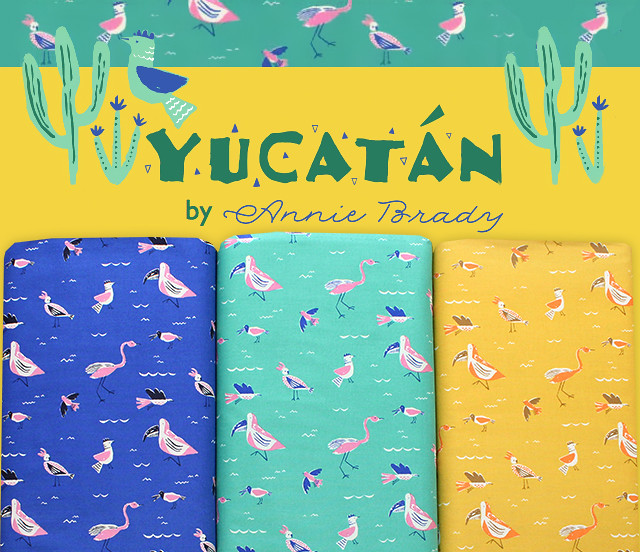 Moda Fabrics Yucatan Collection