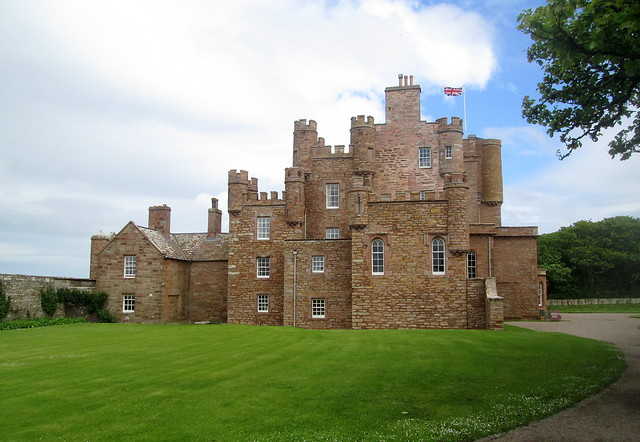 Castle of Mey, Side View