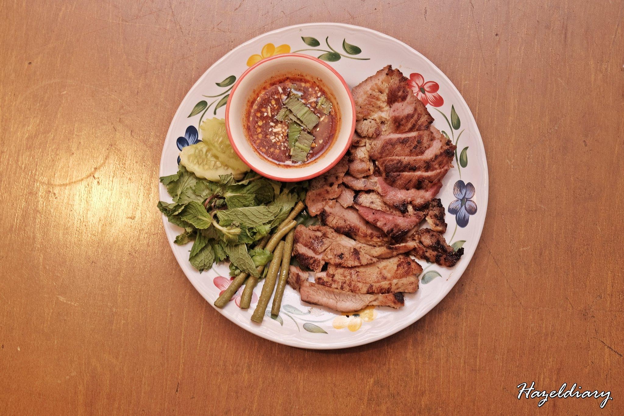 Un Yang Kor Dai-Thai Restaurant-Hazeldiary-Kor Moo Yang