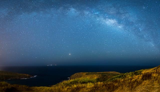 Milky Way from the, Nikon D750, AF-S Nikkor 24mm f/1.8G ED