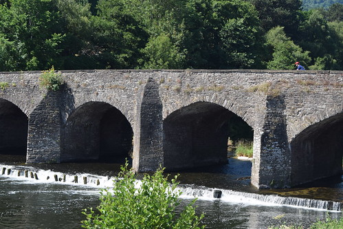 Abergavenny - Llanfoist Bridge. (Working hard for high quality.)