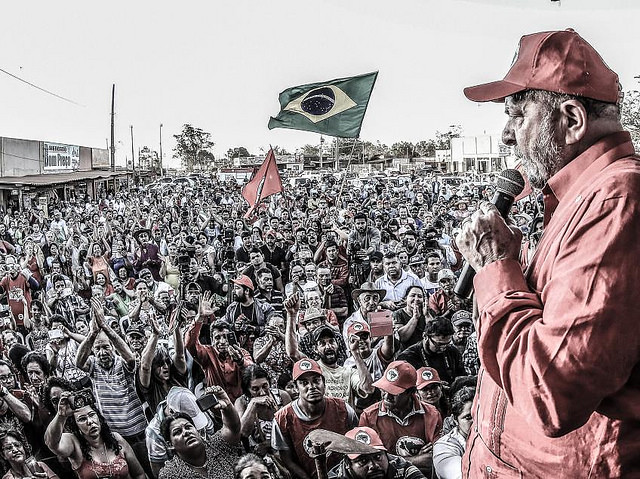 Lula en una de sus caravanas realizadas el año pasado - Créditos: Ricardo Stuckert