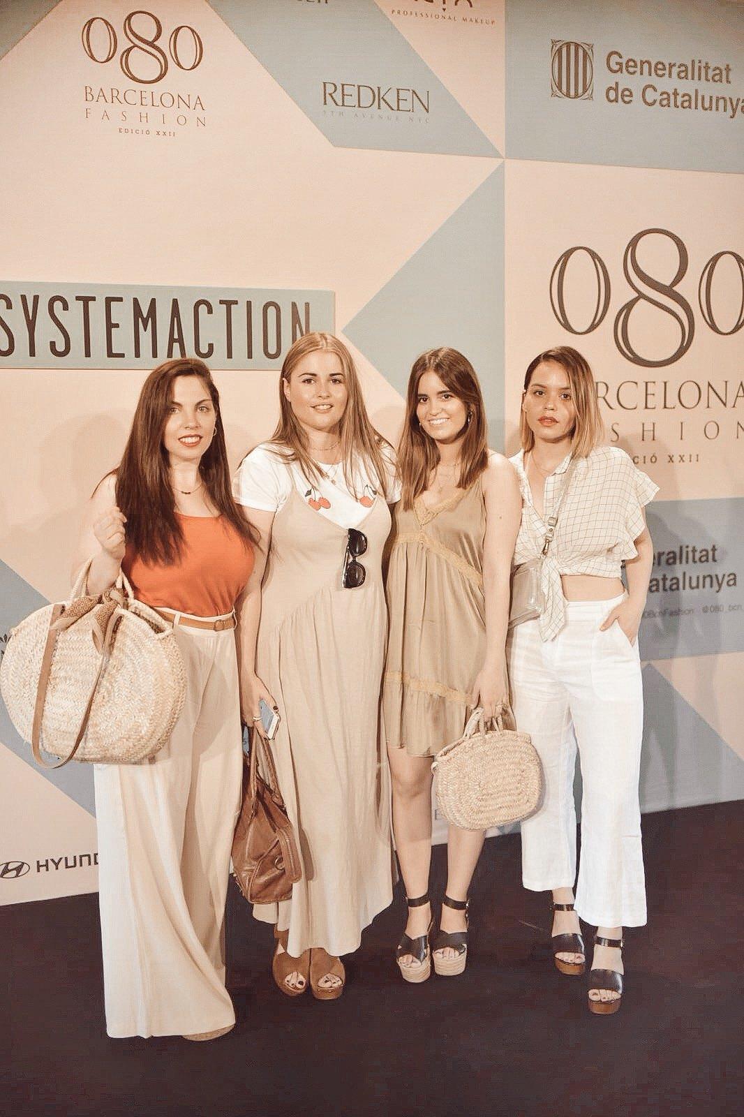photocell del desfile de Systemaction en la 080 Barcelona Fashion