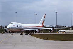 C-FDJC B747 wardair BHX 29-05-87
