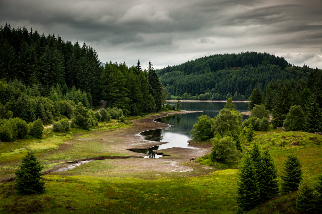 Loch Drunkie | Loch Drunkie on the Three Lochs Forest drive