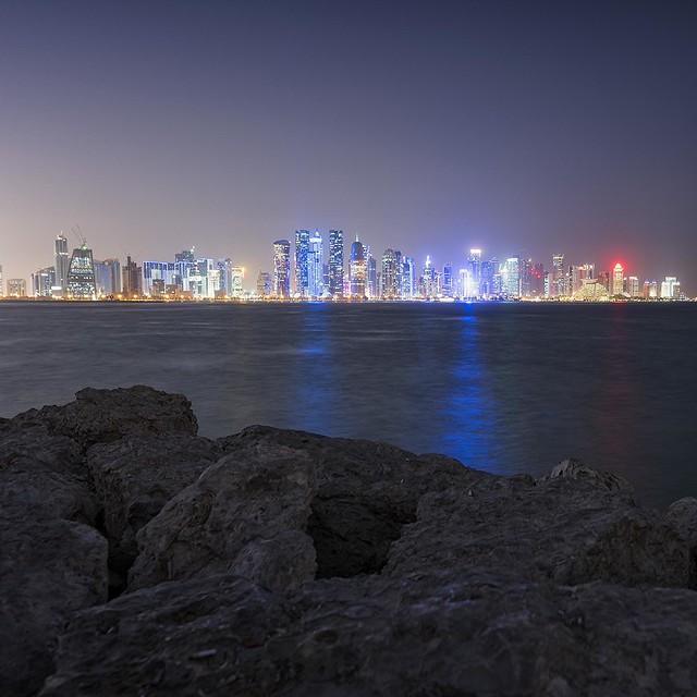 0787 Doha Skyline