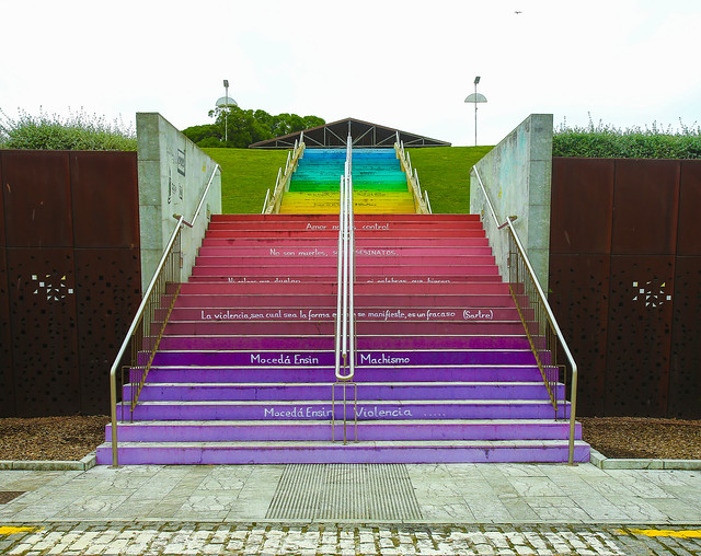 Stairs against machismo