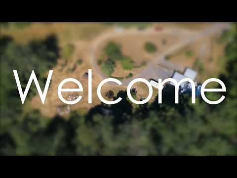 Drone property tour of 31298 Berlin Rd Lebanon, Oregon - Acreage Property for sale