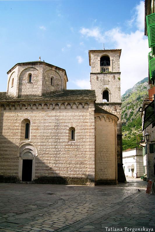 Фасад церкви Св. Марии Речной в Которе