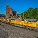 Northbound UP Manifest Train at Kansas City, MO by Mo-Pump