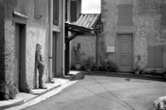 FR18 Visiting his birthplace. Montréal, Aude, Languedoc, France. ФЕД-4 (FED 4), Tmax100