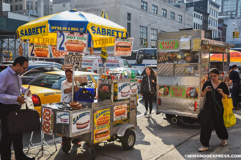Puesto de Hot Dogs, New York