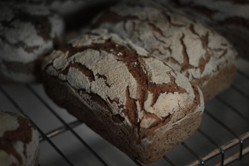 Baked Rye bread