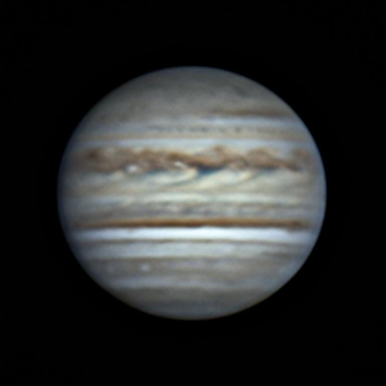 木星 (2018/6/25 19:52-55) (1000/3000 x 4 de-rotation)