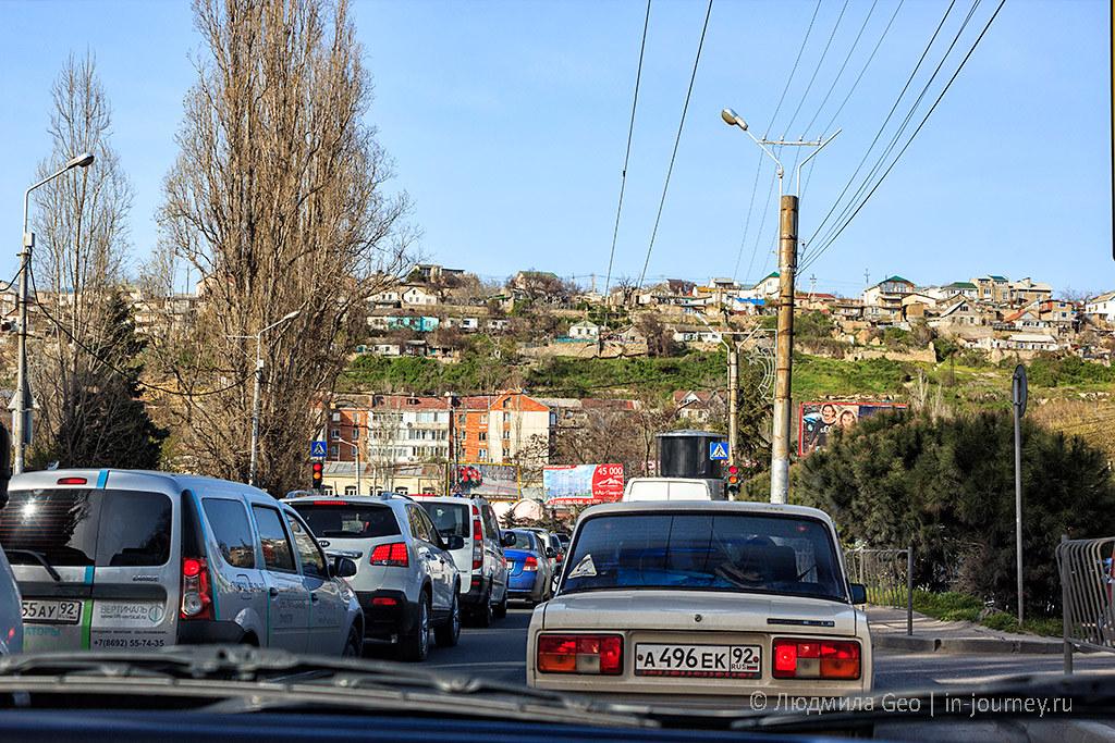 пробки в Севастополе