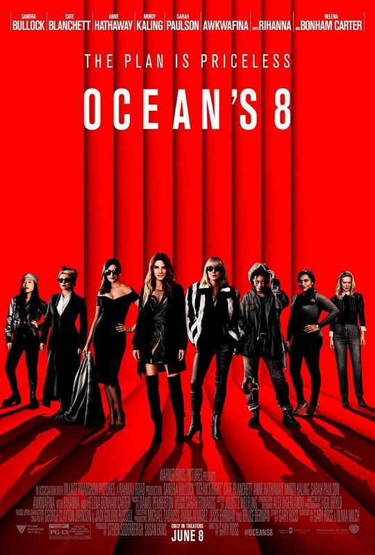 Ocean`s 8 - Poster 2