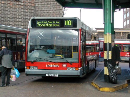 Route 110, XL6 Hounslow Bus Station