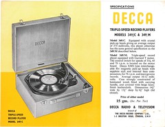 Decca Advert Garrard Motorsa