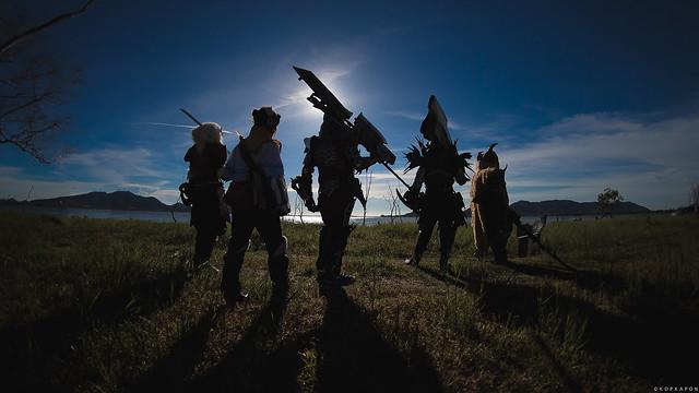 Monster Hunter World, Nikon D5, AF Fisheye Nikkor 16mm f/2.8D