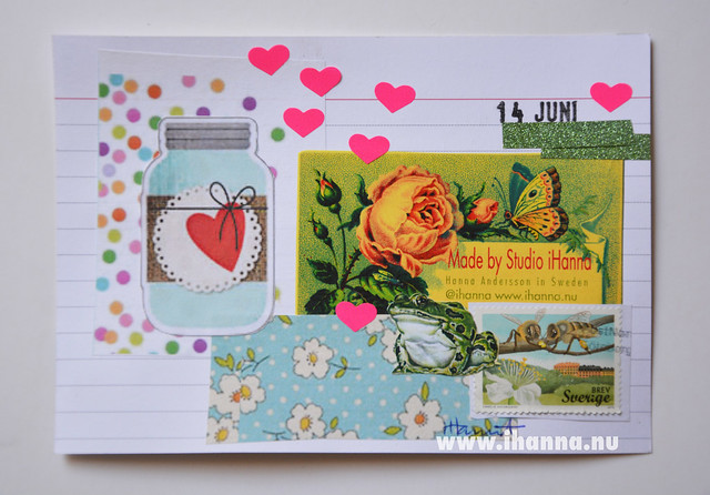 Index Card Collage 14 June 2018 by iHanna aka Hanna Andersson #ihannasICAD #dyICAD2018