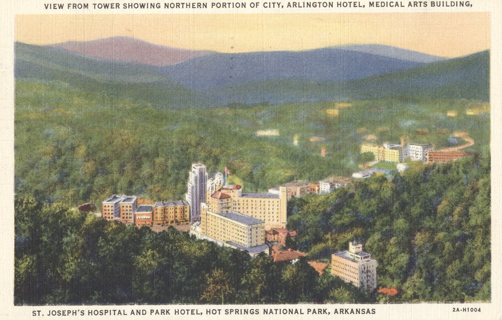 St. Joseph's Hospital and Park Hotel - Hot Springs National Park, Arkansas