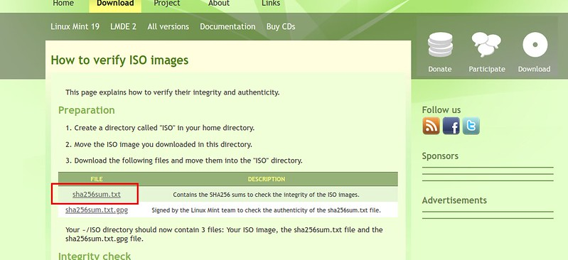 Linux Mint 18: Linux Mint を USB メモリーにインストールする