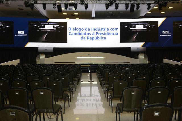 Diálogo da Indústria com Candidatos à Presidência da República