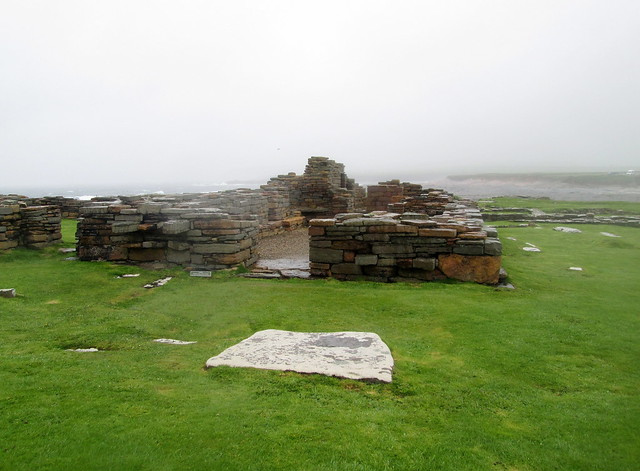 Brough of Birsay, 12th Century Church Remains