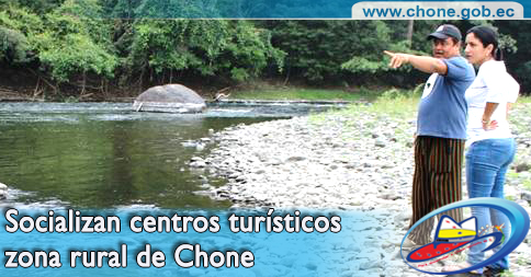 Socializan centros turísticos zona rural de Chone