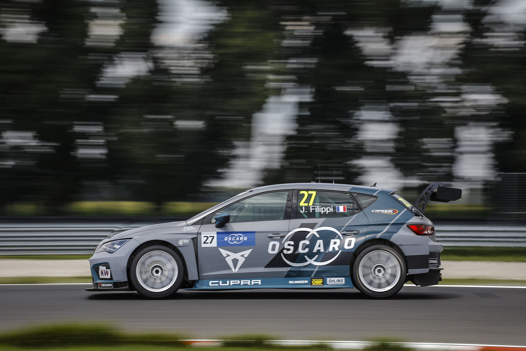 27 FILIPPI John, (fra), Seat Cupra TCR team Oscaro by Campos Racing, action during the 2018 FIA WTCR World Touring Car cup race of Slovakia at Slovakia Ring, from july 13 to 15 - Photo François Flamand / DPPI.