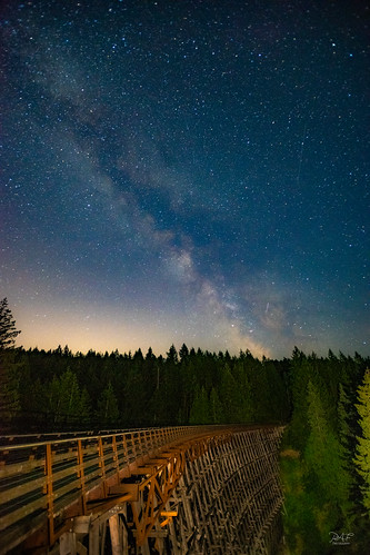 duncan britishcolumbia canada ca kinsoltrestle trestle kinsol shawniganlake bc cowichanvalley cowichan cobblehill vancouverisland a7m2 astrophotography astro night nightphotography nightscape lightpainting landscape landscapephotography longexposure longexposures milkyway galacticcenter sony sonya7m2 minolta1735 wideangle