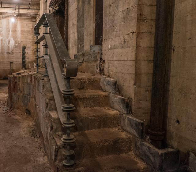 Hidden Pool Stairs