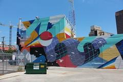 San Antonio - Downtown: Streetart by Mr. Muro