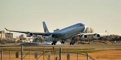 Air Canada Airbus A340-313 C-FYKZ - Toronto Pearson