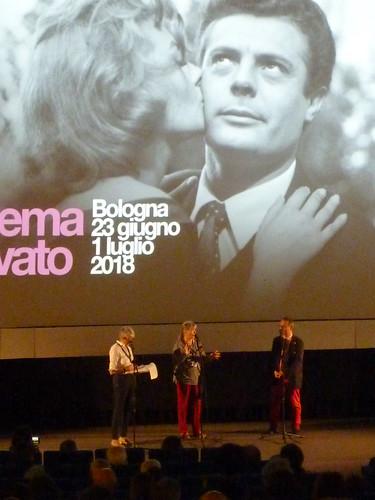 Bologna, Marina Vlady at Cinema Ritrovato 2018